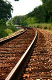 ΙΙ διαδρομή σιδηροδρόμο&upsi Στοκ Εικόνα
