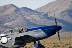 ΙΙ πολεμικός warbird κόσμος αεροπλάνων Στοκ εικόνα με δικαίωμα ελεύθερης χρήσης
