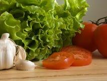 ΙΙ σαλάτα συστατικών Στοκ Φωτογραφίες