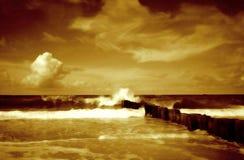 ΙΙ seascape Στοκ φωτογραφία με δικαίωμα ελεύθερης χρήσης