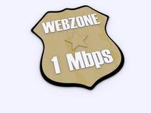 ΙΙ webzone Στοκ εικόνα με δικαίωμα ελεύθερης χρήσης
