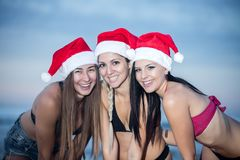 Ικανοποιημένα φωτεινά πρότυπα έτοιμα για τα Χριστούγεννα στοκ φωτογραφία