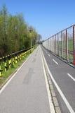Ικανότητα και διαδρομή παρόδων ποδηλάτων Στοκ Εικόνα