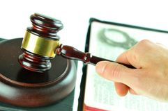 δικαστής Στοκ εικόνα με δικαίωμα ελεύθερης χρήσης