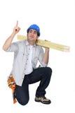 Ικεσία ξυλουργών στοκ εικόνα