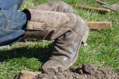 Ικεσία στις μπότες στοκ εικόνα με δικαίωμα ελεύθερης χρήσης