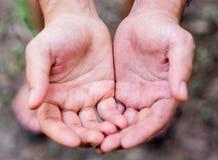 Ικετεύοντας για κάτι, mercey Στοκ εικόνα με δικαίωμα ελεύθερης χρήσης