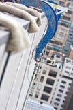 ικρίωμα ξαρτιών που αναστέ&lamb Στοκ Φωτογραφία