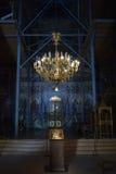 Ικρίωμα στο εσωτερικό εκκλησιών Στοκ Εικόνα