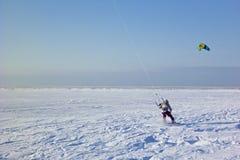 Ικτίνος surfer Στοκ φωτογραφίες με δικαίωμα ελεύθερης χρήσης