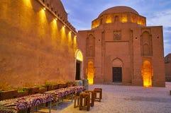 Ιμάμης δώδεκα Davazdah μαυσωλείο ιμαμών, Yazd, Ιράν στοκ φωτογραφία