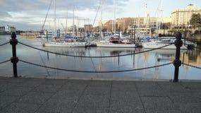 λιμάνι εσωτερικό Στοκ εικόνες με δικαίωμα ελεύθερης χρήσης