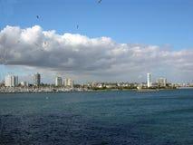 λιμάνι Καλιφόρνιας παραλ&iot Στοκ φωτογραφίες με δικαίωμα ελεύθερης χρήσης