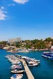 λιμάνι παλαιά Τουρκία antalya Στοκ εικόνες με δικαίωμα ελεύθερης χρήσης