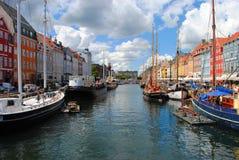 λιμάνι της Ευρώπης προορισμού κρουαζιέρας της Κοπεγχάγης που οδηγεί τους κόσμους του s στοκ φωτογραφίες με δικαίωμα ελεύθερης χρήσης