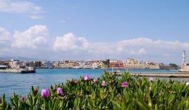 λιμάνι της Κρήτης chania Στοκ Εικόνες