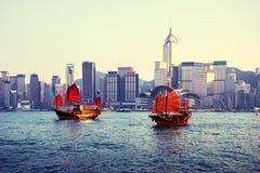 λιμάνι Χογκ Κογκ στοκ φωτογραφία με δικαίωμα ελεύθερης χρήσης