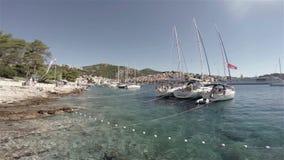 λιμάνι απόθεμα βίντεο