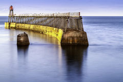λιμάνι whitby Στοκ Φωτογραφίες