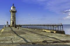 λιμάνι whitby Στοκ Εικόνα