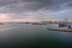 λιμένας της Αγκώνας Ιταλία Στοκ Εικόνες