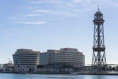 λιμένας της Βαρκελώνης vell Στοκ εικόνες με δικαίωμα ελεύθερης χρήσης