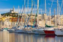 λιμένας της Μασσαλίας Στοκ Εικόνες