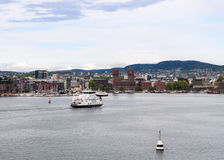 λιμένας της Νορβηγίας Όσλ&om Στοκ εικόνα με δικαίωμα ελεύθερης χρήσης