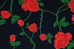 Ιματισμός με το floral σχέδιο Στοκ Εικόνα