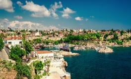 λιμενική παλαιά πόλη antalya Τουρκία Στοκ φωτογραφίες με δικαίωμα ελεύθερης χρήσης