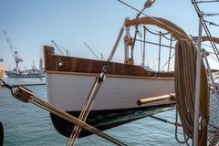 λιμενικό πλέοντας σκάφο&sigmaf Στοκ Εικόνες