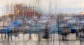ιμπρεσσιονιστική δύση πρόσδεσης λεκανών Στοκ Εικόνες