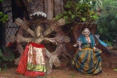 Ινδά είδωλα Στοκ φωτογραφία με δικαίωμα ελεύθερης χρήσης