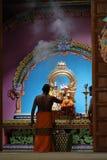 Ινδή τελετή στο ναό Trincomalee στη Σρι Λάνκα Στοκ Εικόνες