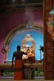 Ινδή τελετή στο ναό Trincomalee στη Σρι Λάνκα Στοκ εικόνες με δικαίωμα ελεύθερης χρήσης