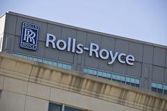 ΙΝΔΙΑΝΑΠΟΛΗ - ΤΟΝ ΟΚΤΏΒΡΙΟ ΤΟΥ 2015 CIRCA: Εταιρία Rolls-$l*royce, Ινδιανάπολη στοκ εικόνα με δικαίωμα ελεύθερης χρήσης