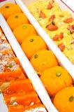 ινδικά γλυκά κιβωτίων Στοκ εικόνες με δικαίωμα ελεύθερης χρήσης