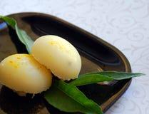 ινδικά γλυκά ρυζιού μπουλεττών Στοκ Φωτογραφίες