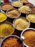 ινδικά καρυκεύματα Στοκ εικόνα με δικαίωμα ελεύθερης χρήσης