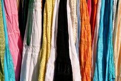 ινδικά πρότυπα φορεμάτων Στοκ Εικόνα