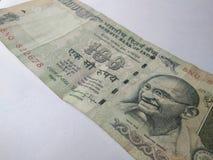 Ινδικά τραπεζογραμμάτια νομίσματος στοκ εικόνες