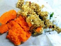 Ινδικά τρόφιμα ναών στοκ φωτογραφία με δικαίωμα ελεύθερης χρήσης