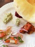 Ινδικά τρόφιμα στοκ εικόνες με δικαίωμα ελεύθερης χρήσης