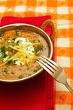 Ινδικά τρόφιμα στοκ εικόνες