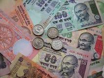 Ινδικά χρήματα. Στοκ φωτογραφία με δικαίωμα ελεύθερης χρήσης