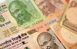 ινδικές ρουπίες Στοκ εικόνα με δικαίωμα ελεύθερης χρήσης