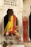 Ινδική γυναίκα. Στοκ φωτογραφία με δικαίωμα ελεύθερης χρήσης