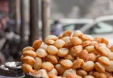 ινδική οδός τροφίμων καλαμποκιού Στοκ Φωτογραφίες