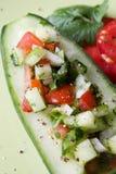 ινδική σαλάτα αγγουριών στοκ φωτογραφία με δικαίωμα ελεύθερης χρήσης
