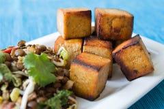ινδική σαλάτα φακών στοκ φωτογραφίες